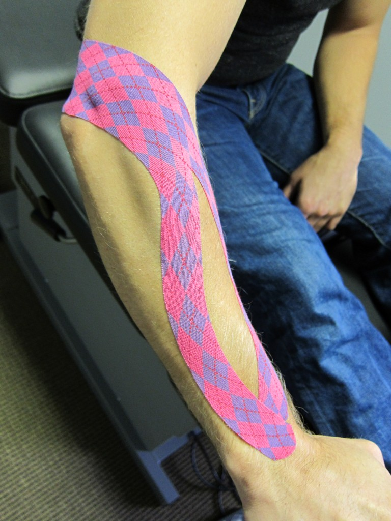 Seattle Velo Sports Rehab - kinesiology tape