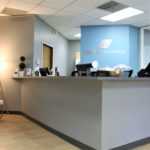 Bellevue Velo Sports Rehab front desk area