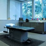 Bellevue Velo Sports Rehab chiropractic adjustment/physical therapy/active release technique room